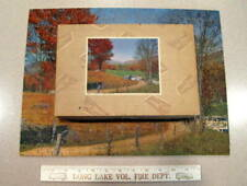 """Vintage J.K. Straus Wooden Jigsaw Puzzle - """"Path To Green Valley"""" - Complete!"""