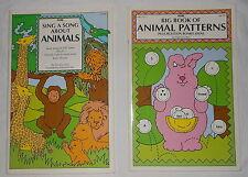 Animal Patterns Songs Big Book 17 x 11 Set 2 PreK-2nd Grade K 1 2 1994 PB