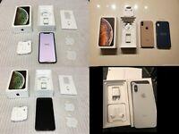 NEW iPhone XS MAX 256GB GOLD SPRINT AT&T Straight Talk Verizon Cricket UNLOCKED