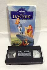 Walt Disney Masterpiece The Lion King from Masterpiece Collection 1995 VHS 2977