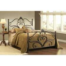 Hillsdale Newton Bed Set Queen, Antique Brown Highlight - 1756-500