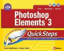 Photoshop elements 3 (Quicksteps) Matthews, Carole Boggs Paperback