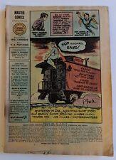 Master Comics #76 Fawcett Comic 1947 Captain Marvel Jr Bulletman Bulletgirl