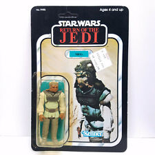 1983 NIKTO Vintage Star Wars FACTORY SEALED MOC Figure 77 Back Kenner ROTJ
