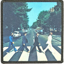 THE BEATLES sew-on patch -abbey road lp cover