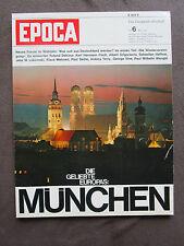 EPOCA 6 1965 München Oktoberfest Dackl Ernst Hürlimann Loriot Wiedervereinigung
