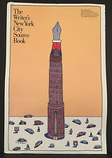 SEYMOUR CHWAST NYC WRITER'S GUIDE 1987 Mohawk Paper Graphics Collection Poster