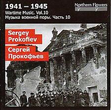 CD PROKOFIEV WARTIME MUSIC SEMYON KOTKO SUITE op.81bis WALTZES SUITE op.110