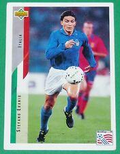 FOOTBALL CARD UPPER DECK 1994 USA 94 STEFANO ERANIO ITALIA ITALIE SQUADRA