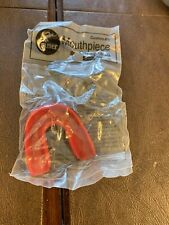 Cramer Custom Fit Strapless Mouth Piece - Senior Size Red