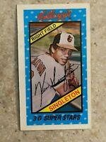 Kelloggs 1980 3D #30 Ken Singleton - Baltimore Orioles