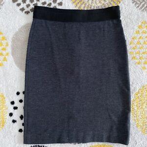 Jacqui E Grey Pencil Skirt Size 8