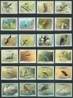BIRDS OF CANADA = FALCON = EAGLE = DUCK COMPLETE SERIES of 24 = 1996-2001 MNH