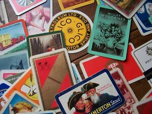 111 MIXED VINTAGE PLAYING CARDS. GUINNESS, CAPSTAN SCOOTER, J.W. WHISKY ETC.