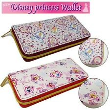 Disney red color Princess Long Wallet Toreba Japan