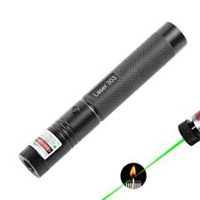 Laser Pen Green Pointer Beam Visible Light Adjustable Starry Cap Head 532nm 5mW