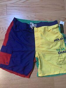 Polo Ralph Lauren 8.5-Inch Kailua Swim Trunk Sz XXL Men's Short
