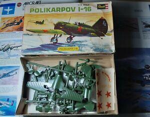 Revell 1/72 - Polikarpov I-16 - 1970 reissue