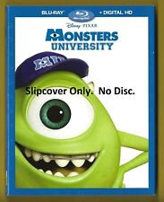 Disney Monster University SLIPCOVER ONLY fits blu-ray case (No Disc)