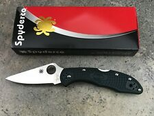 Spyderco Delica 4 Knife Lightweight British Racing Green ZDP-189 C11PGRE