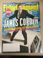 James Corden Car Pool Karaoke +Supergirl Entertainment Weekly 2016 English Music