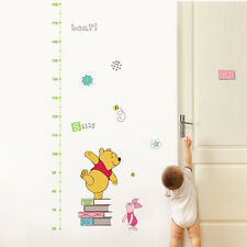 Winnie the Pooh Disney Growth Height Chart Wall Sticker Nursery Bedroom Vinyl UK