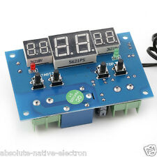 W1401 -9 to 99C DC 12V digital display thermostat Temperature controller NTC