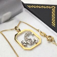 Yellow Gold animal Fine Diamond Necklaces & Pendants