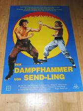 DER DAMPFHAMMER VON SEND-LING - Kinoplakat A1 ´81 - EASTERN Kung Fu
