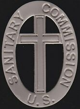 United States - US Sanitary Commission Civil War Medal - Volunteer Badge