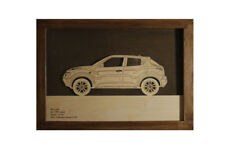 Car Wood Picture With Nissan Juke 3D Image Frame Home Wall Decor Car Art
