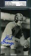 Red Grange Signed Postcard Psa/dna Coa Authentic Autograph