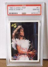 1990 Classic WWF #11 - MISS ELIZABETH - PSA 10 Gem Mint