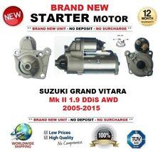 FOR SUZUKI GRAND VITARA II 1.9 DDiS AWD 2005-2015 STARTER MOTOR 1.9 kW 11 Teeth