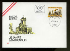 Austria 1984 Minimundos Model World FDC #383