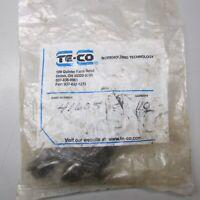 TE-CO 41605 Flange Nut Bag of 10!