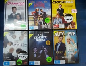 Quality Ex-Rental Used DVD's Assorted Comedy Titles List #2