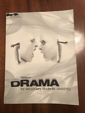Nelson Drama for Secondary Students by David Roy Paperback Book