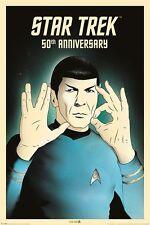 STAR TREK (SPOCK 5-0) 50TH ANNIVERSARY - Maxi Poster 61cm x 91.5cm PP33933 - 489