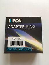 Kipon Adapter Ring Body Mount PK To Nikon