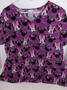 Disney Minnie Mouse scrub top - Large