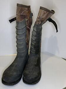 """LaCrosse Alpha Lite 3.5mm 18"""" Waterproof Hunting Boots sz.9"""