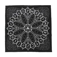 Norse Viking Altar Tarot Card Cloth Tablecloth Tapestry Altar Piece Decor