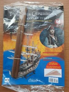 Hachette Pirates of the Caribbean Build the Black Pearl Pirate Ship issue 54