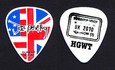 Aerosmith Joe Perry Signature US/UK Flag Guitar Pick - 2010 UK Solo Tour
