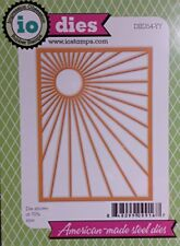 Sunburst Background Steel Die for Scrapbooking (Die354Yy)