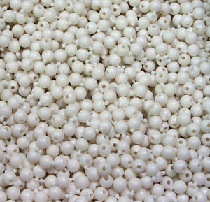 Pop Snap It Novelty Beads 12mm 144pc White Pearl Color