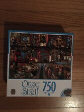 750 pc puzzle Once Upon a Shelf