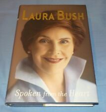 Book Spoken From The Heart Author Laura Bush Hardcover President