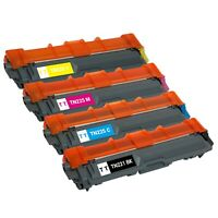4 x TN-221 TN-225 Toner Cartridge for Brother TN221 TN225 HL-3140CW HL-3170CDW